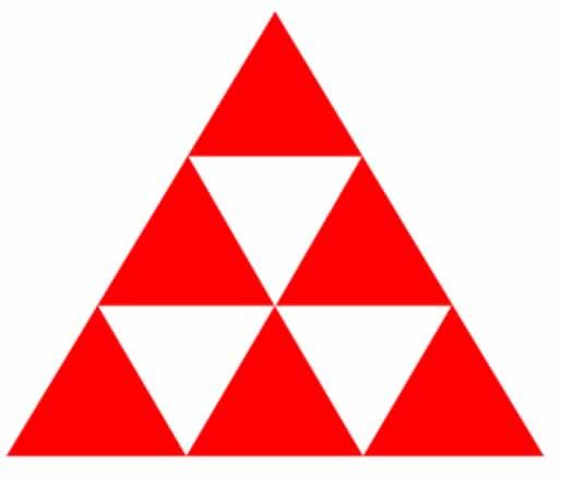 Quantos triangulos voce vê na imagem